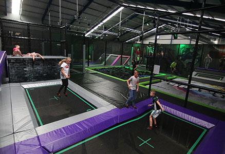 Skills & Tricks op de trampoline